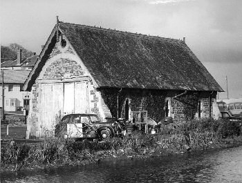old lifeboat house from east 1965